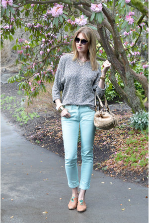 Zara shoes - American Apparel sweater - Chloe bag - SANDRO pants