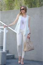 Prada bag - Zara pants - Aritzia vest