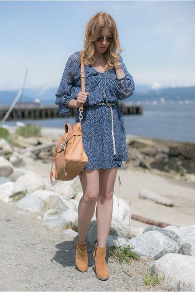 Joie dress - Sigerson Morrison boots
