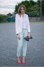 Zara-blazer-theory-blouse-sandro-pants-carven-pumps