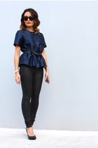 Out With Audrey top - bardot jeans
