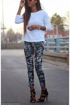 Karmaloop pants - Zara sandals