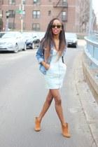 H&M dress - Aldo boots - H&M jacket