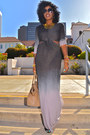 Heather-gray-ombre-cut-out-ombre-dress
