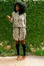 Beige-leopard-boyfriend-shirt-shirt-black-knee-high-socks-socks-brown-oxford