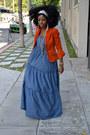Blue-h-m-dress
