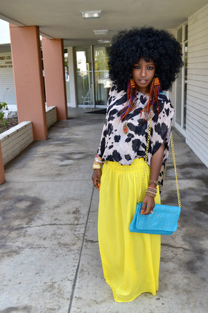yellow Style Pantry skirt