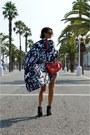 Black-cowboy-acne-boots-white-kimono-monki-jacket