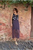 Zara dress - Bimba & Lola sandals