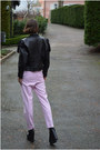 Black-vintage-jacket-bubble-gum-cigarette-h-m-trend-pants