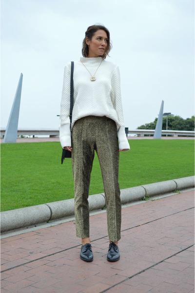 dark khaki H&M pants