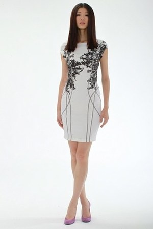 off white Althea Harper dress - printed Althea Harper dress