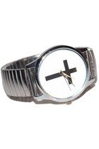 Cross Watch Silver