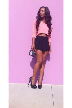 Forever 21 skirt - Styled By Sheena bag