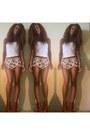 Floral-shorts-h-m-shorts