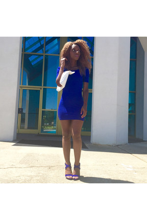 Forever 21 dress - Style By Sheena Boutique bag - Forever 21 heels