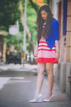 Mango shoes - kiosha dress - Local store blazer