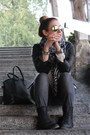 Heather-gray-zara-jeans-black-leather-forever-21-jacket-h-m-scarf