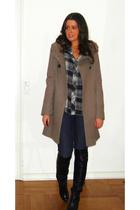 Zara coat - Zara shirt - Forever 21 jeans - from Mallorca boots