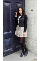 asos vest - St Tropez sweater - GINA TRICOT blouse - Inwear skirt