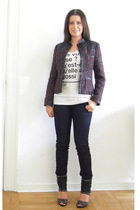 Zara jacket - Colette t-shirt - veromoda jeans - My Favorites boots