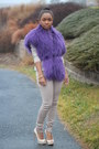 Gap-sweater-gap-pants-vintage-top-aldo-heels-jcrew-bracelet