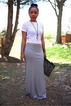 bcbg max azria skirt - Love Cortnie bag - Urban Outfitters top