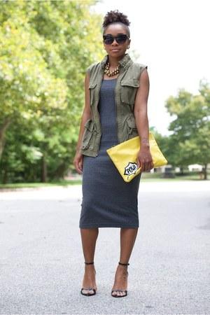 Atlantis Dry Goods necklace - H&M dress - Love Cortnie bag