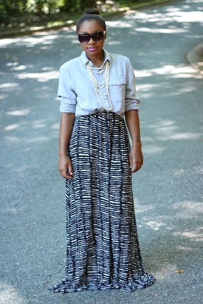 H&M dress - Anthropologie sunglasses - Old Navy top - JCrew necklace