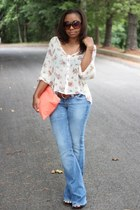 True Religion jeans - Love Cortnie bag - Forever 21 sunglasses