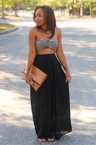 Love Cortnie bag - Nordstrom skirt - Urban Outfitters top - Same Edelman sandals