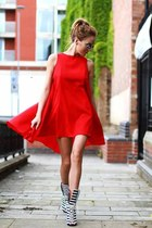 red unknown brand dress