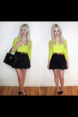 nylon blouse Forever21 blouse