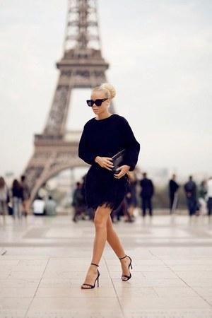 black black skirt unknown brand skirt