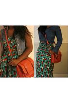 carrot orange crossbody Mossimo purse