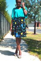Tempt skirt - supre top - Shoemart wedges