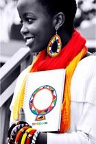 colourful Maasai bracelet