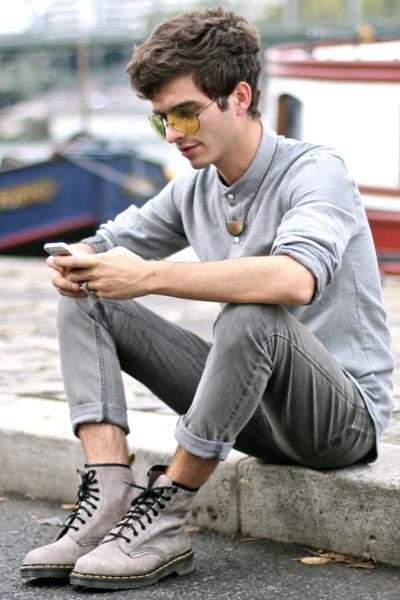 Dr Martens boots - Cheap Monday jeans - Whole Sale Celeb Shades sunglasses