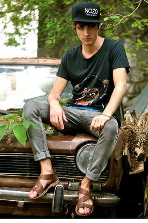 maison martin margiela shoes - Cheap Monday jeans - Nozo hat - G kero t-shirt