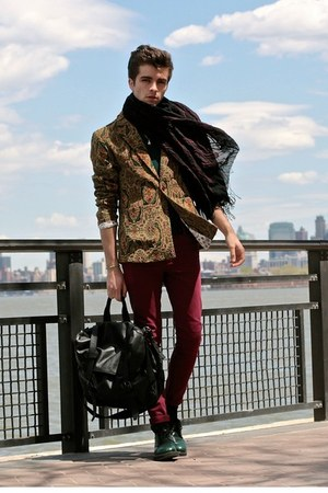 Choies jacket - asos jeans - Dries Van Noten scarf - Givenchy bag
