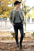 Jack and Jones hat - Neosens shoes - asos jeans - WESC jacket