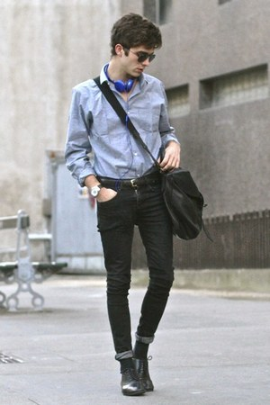 Sismeek watch - maison martin margiela shoes - Selected shirt - Givenchy bag