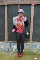 H&M coat - H&M shirt - H&M pants