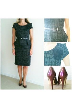 basque dress - zoe whittner heels