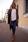 Burnt-orange-zara-boots-black-celine-b-coat-navy-lindex-jeans
