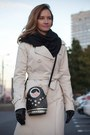 Black-zara-boots-ivory-celine-coat-black-louis-vuitton-scarf
