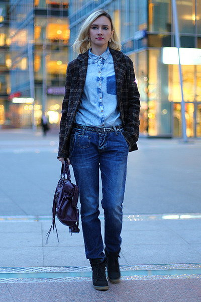 Ladies Jeans And Shirt Photo Album - Reikian