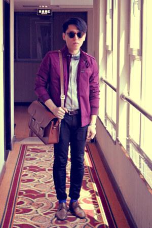 leather bags The Cambridge Satchel bag - Zara shoes - skinny jeans Topman jeans