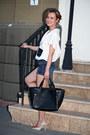 Lucian-rusu-shirt-bershka-bag-bershka-shorts