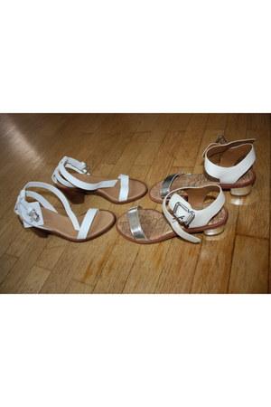 leather sam edelman sandals - leather Zara sandals